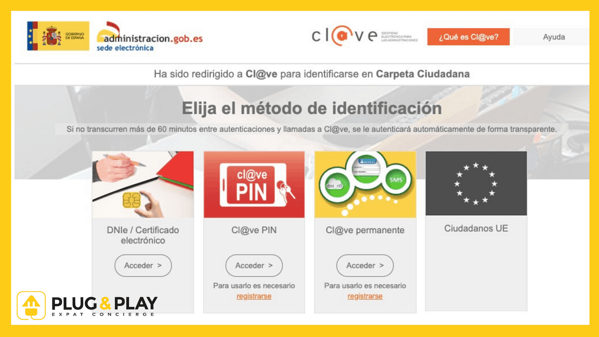 certificat digital Espagne - plug and Play Barcelona